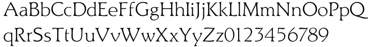 Titus® Font Sample