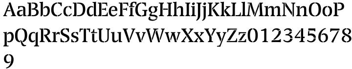 Transport™ Font Sample