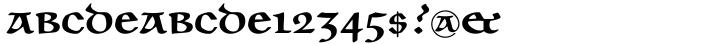 Unciala™ Font Sample