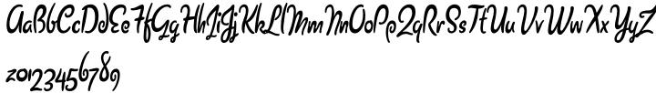Barrista Font Sample