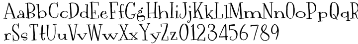 Jugelia Font Sample