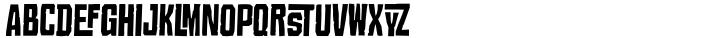 Croteau Font Sample