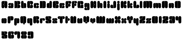 Foldron Font Sample