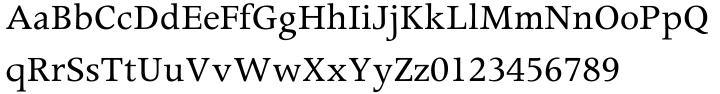 Apollo™ Font Sample