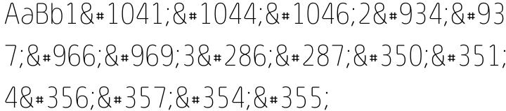 Light Fit™ Font Sample