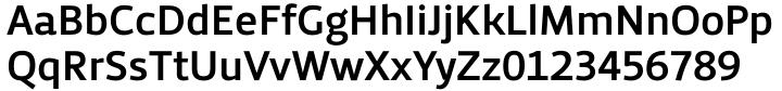Priva Pro Font Sample