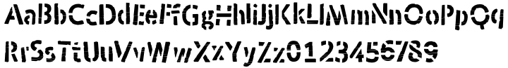 Skraype Font Sample