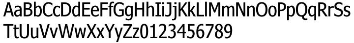 Nina® Font Sample