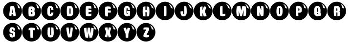 Ardball JNL Font Sample