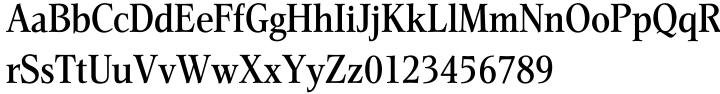 Helicon® BQ Font Sample