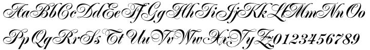 Poppl-Residenz® BQ Font Sample