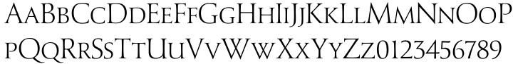 Senatus® BQ Font Sample