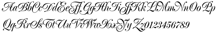 Poppl Exquisit® BQ Font Sample