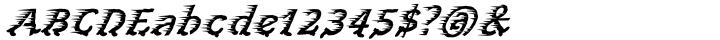 Perpedix™ Font Sample