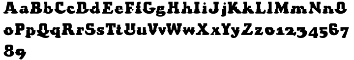 Shiver Font Sample