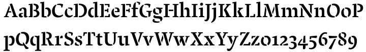 Pochoir Font Sample