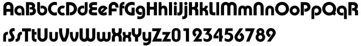Pump™ Font Sample