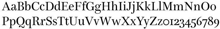 Bohemia™ Font Sample