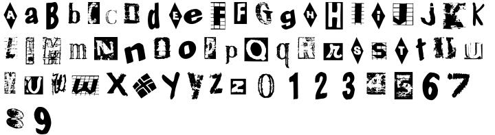 Ballard Avenue Font Sample