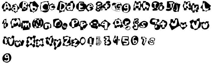 Bubbles Font Sample