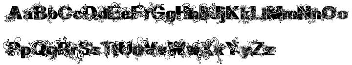 Gavinha Font Sample