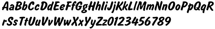 Salsbury Font Sample