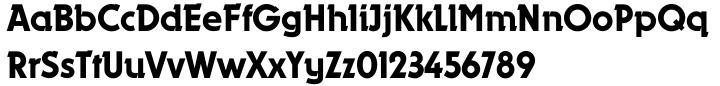 Dynamo™ Font Sample