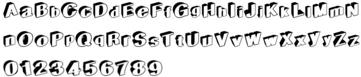 Geodec Egiptian Font Sample