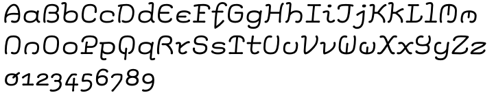Elementis™ Font Sample