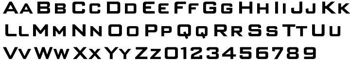 S-L Gothic™ Font Sample