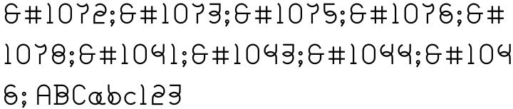 Flox Font Sample