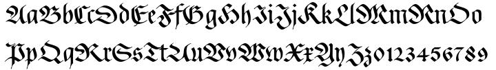 Rockner™ Font Sample