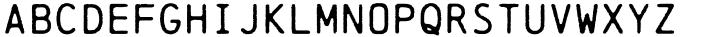 Chainprinter Font Sample