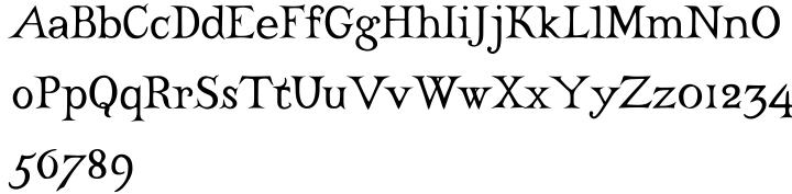 Castine™ Font Sample