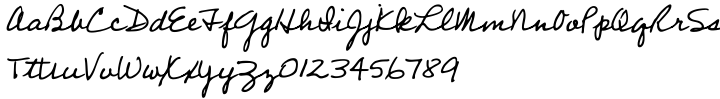 Professor™ Font Sample