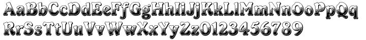 Cabaret™ Font Sample