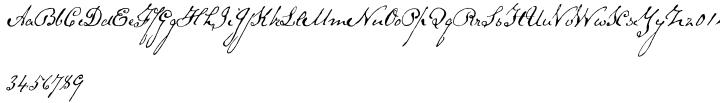 Schooner Script™ Font Sample