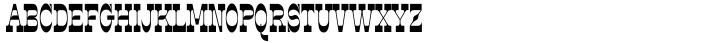 Steeplechase Font Sample