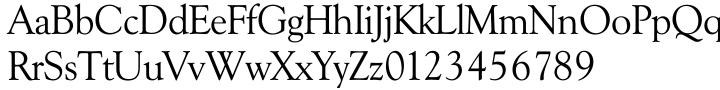 TS Goudy™ Font Sample