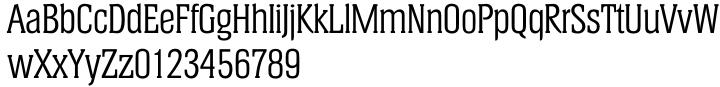 TS Helium™ Font Sample
