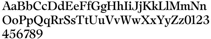 TS Leamington™ Font Sample