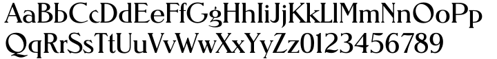 TS Nevada™ Font Sample