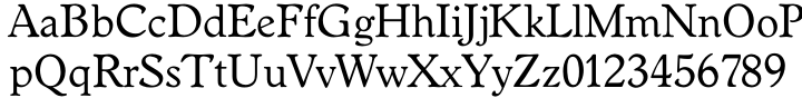 TS Worchester™ Font Sample