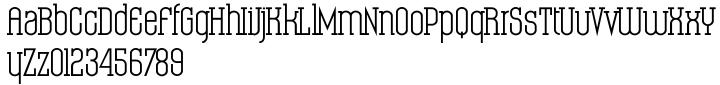 Condo Font Sample