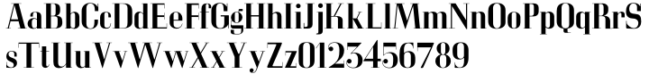 LTC Glamour™ Font Sample