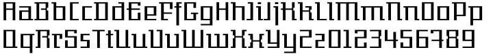 EF Gigant Font Sample