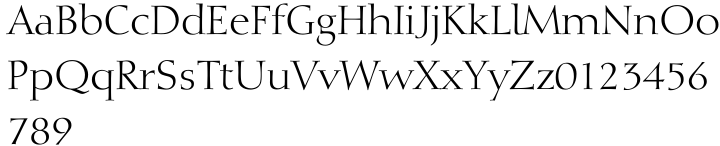 Diotima® Font Sample