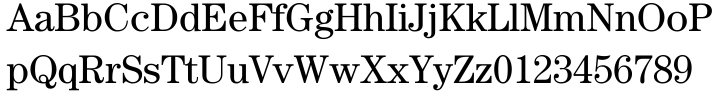 ITC Century® Font Sample