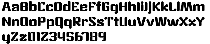 ZXA™ Font Sample