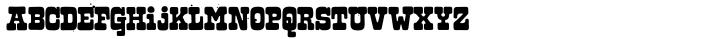 Hubbard Font Sample